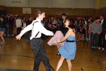 Sadie's dance contest Winners